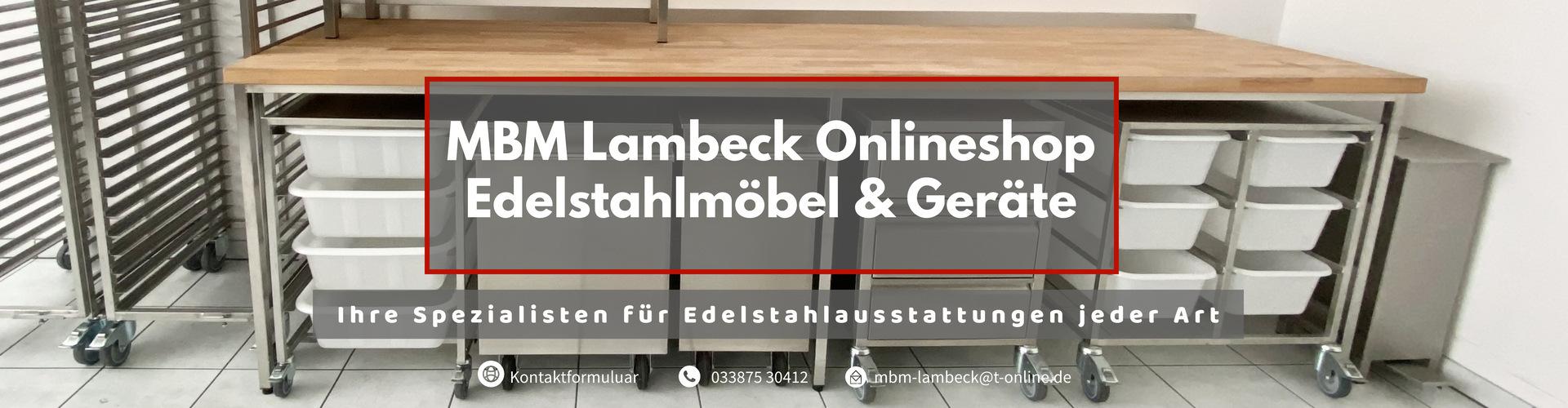MBM Lambeck Kontaktformular