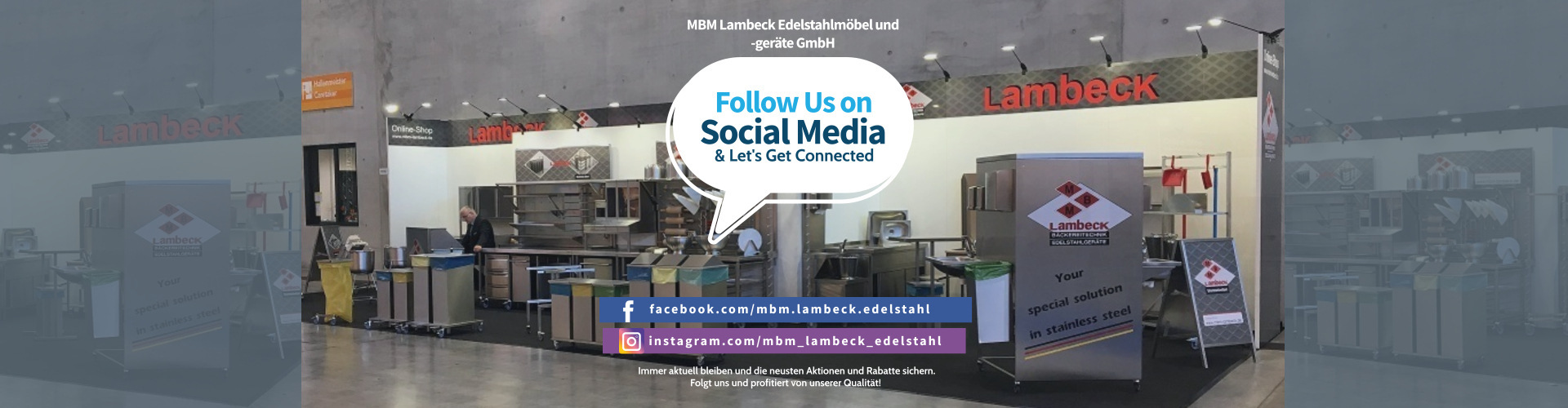 MBM Lambeck Social media